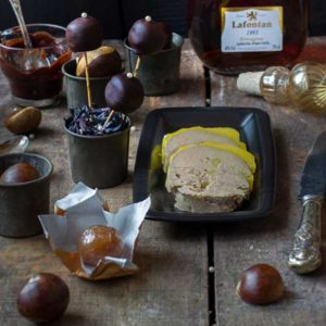 Foie gras le Marrons glacés, par Cuisine-at-home, Traiteur Yvelines Traiteur Saint-Germain-en-Laye