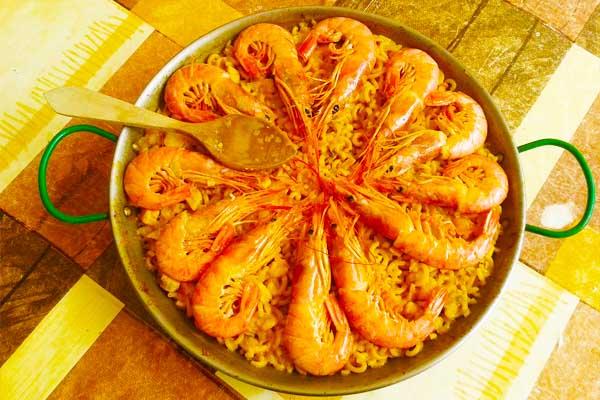 Riz safrané aux crevettes, par Cuisine-at-home, Cours de cuisine Saint-Germain-en-Laye Cours de cuisine Yvelines