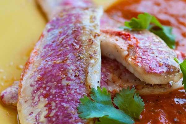 Rouget, par Cuisine-at-home, Cours de cuisine Saint-Germain-en-Laye Cours de cuisine Yvelines