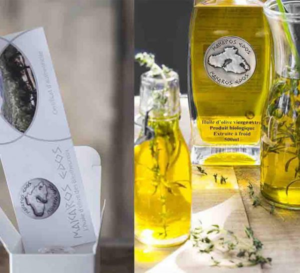 Huile d'olive Makaros Edos