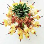 Bouquet de crevettes cubes d'ananas Traiteur Saint-Germain-en-Laye Yvelines