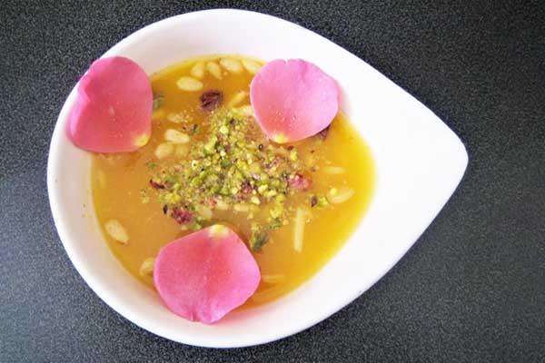 Khochaf (soupe d'abricots), par Cuisine at home Traiteur Yvelines Saint Germain en Laye