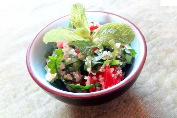 Tabboulé libanaise, par Cuisine-at-home, Cours de cuisine Saint-Germain-en-Laye Cours de cuisine Yvelines