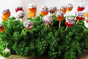 Champ de tomates cerise caramélisées, par Cuisine at home Traiteur Yvelines, Traiteur Saint Germain en Laye