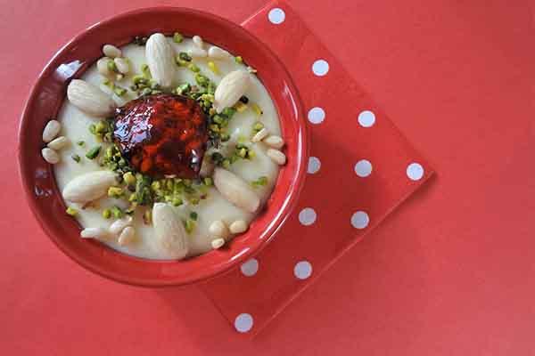 Mouhallabieh, par Cuisine-at-home, Cours de cuisine Saint-Germain-en-Laye Cours de cuisine Yvelines