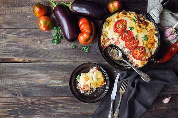 Moussaka, par Cuisine-at-home, Cours de cuisine Saint-Germain-en-Laye Cours de cuisine Yvelines