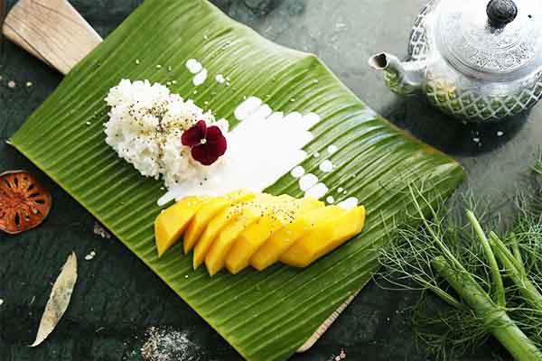Riz gluant mangue, par Cuisine-at-home, Cours de cuisine Saint-Germain-en-Laye Cours de cuisine Yvelines
