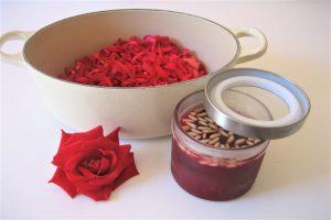 Confiture de roses