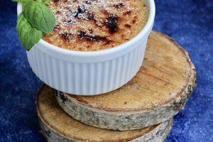 Crème brûlée au parmesan